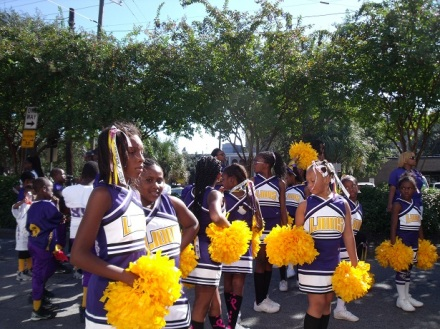 Savannah Lions Cheerleaders