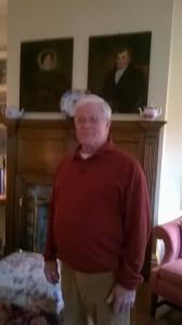 Mr. Turner in his living room